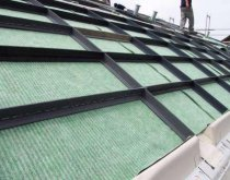 BTM Optigreen anti-slip systems  (roof pitch starting at 15°)